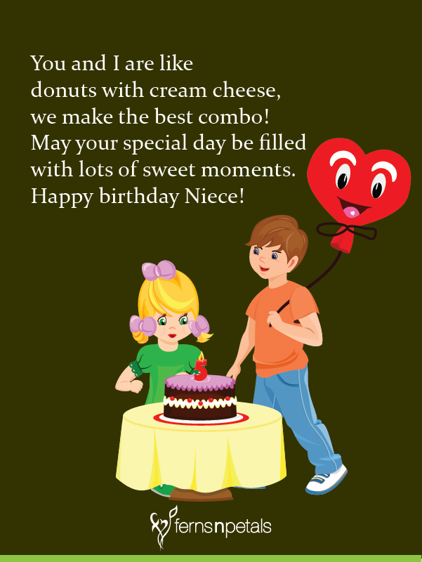 Greetings for Niece bday